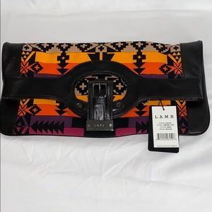 NWT L.A.M.B. Convertible Clutch